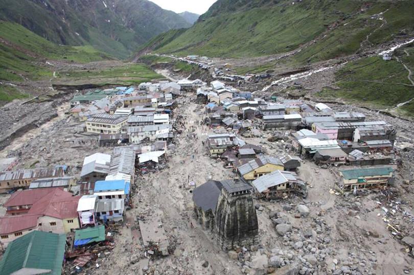 インド大洪水の一因は「水力発電計画」、報告書
