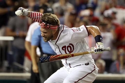 ハーパーの本塁打競争優勝でナショナルズ悲鳴、チケット代金が1ドルに