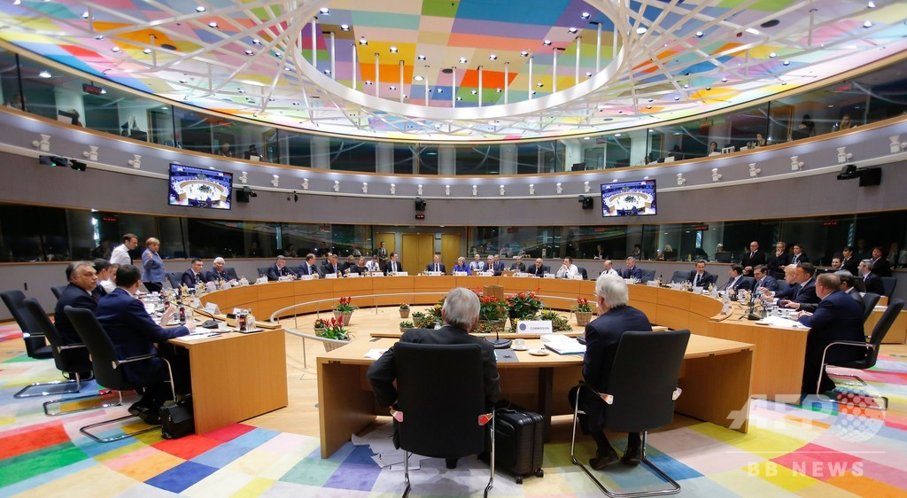 EU首脳会議、英国のEU離脱合意案を承認