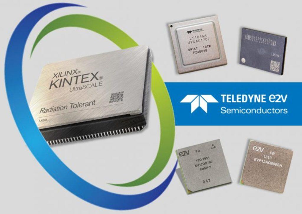 Teledyne e2v、Xilinx社の宇宙グレードFPGA製品をサポートする最新の半導体製品群を発表