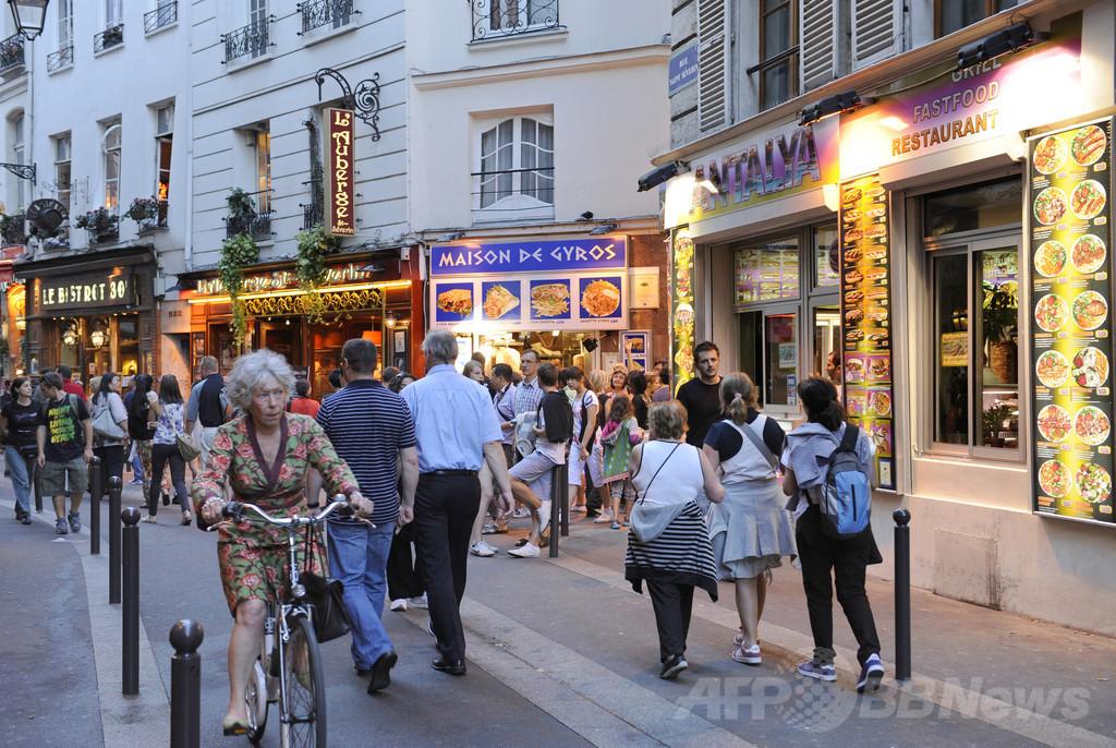 フランス、低水準のレストラン食に対抗策 「ホームメード」認証