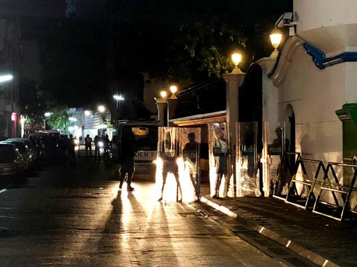 モルディブで非常事態宣言、元大統領逮捕 政治混迷深まる