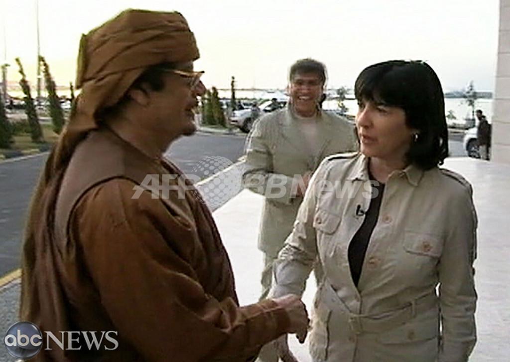 「国民はわたしを愛している」、カダフィ大佐が退陣否定
