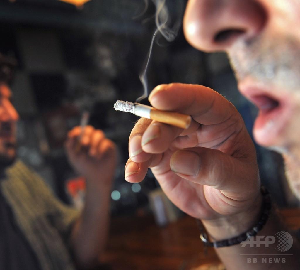 HIVに感染した喫煙者の死因、HIV関連より肺がん 研究
