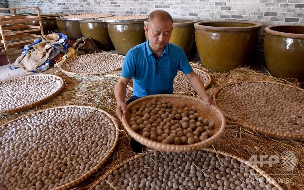 中国の発酵食品「酒醸」 昔ながらの製法