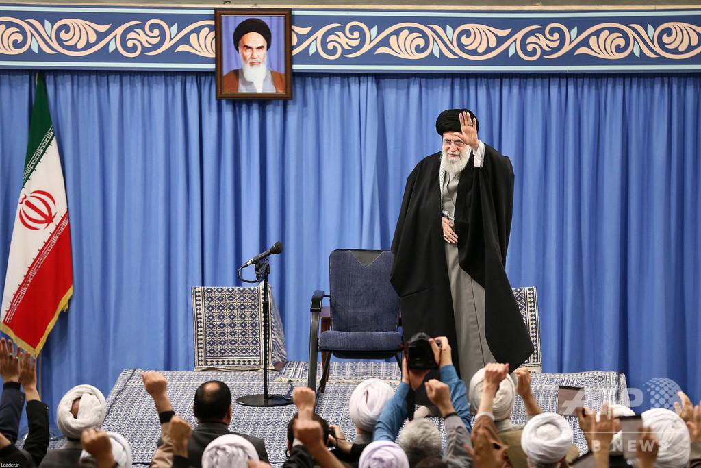 イラン・ハメネイ師、米国に「平手打ち食らわせた」