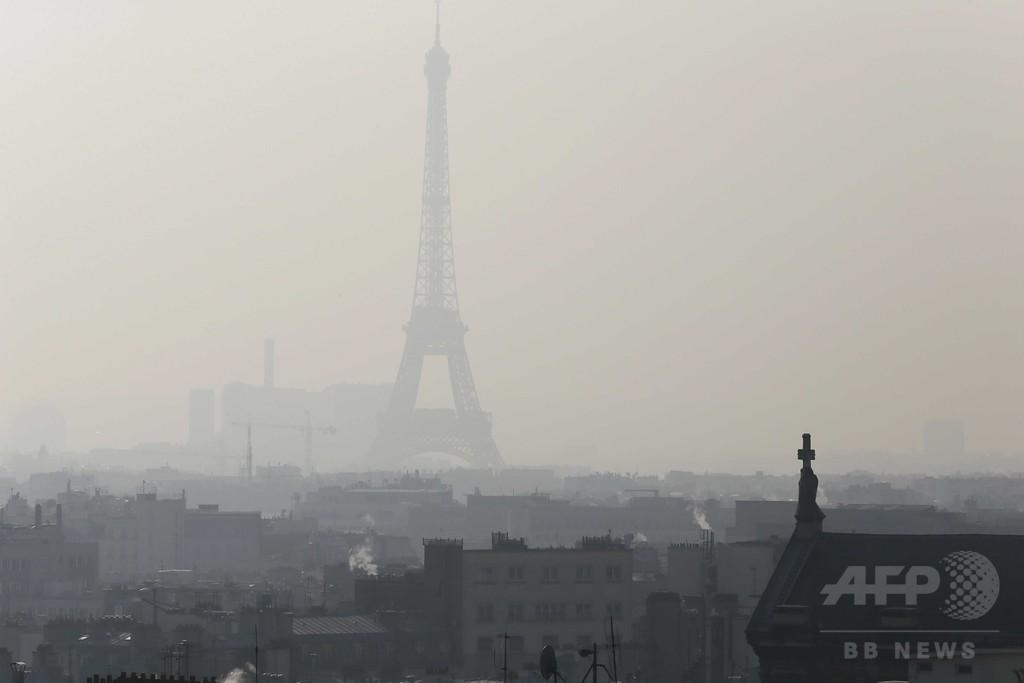 欧州、大気汚染で年間50万人以上が早死に EU報告書