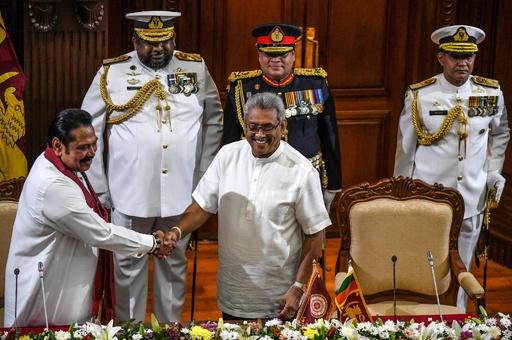 スリランカ警官が亡命申請、新大統領の身辺捜査で「殺害予告」 空港厳戒