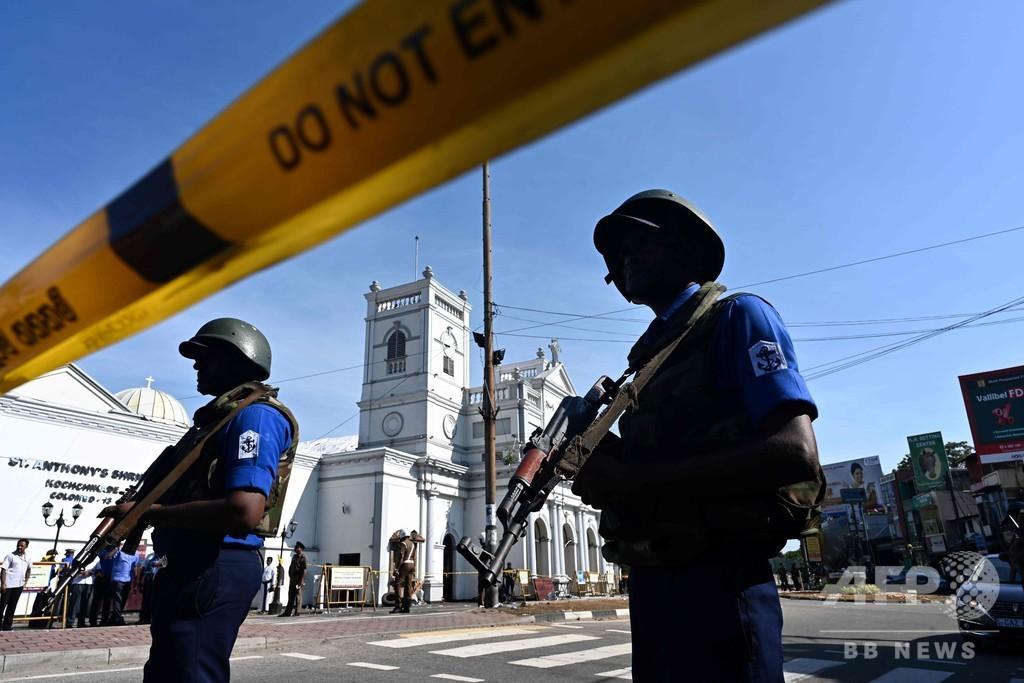 スリランカ連続爆発、閣僚が「NZ銃乱射の報復」との見解示す