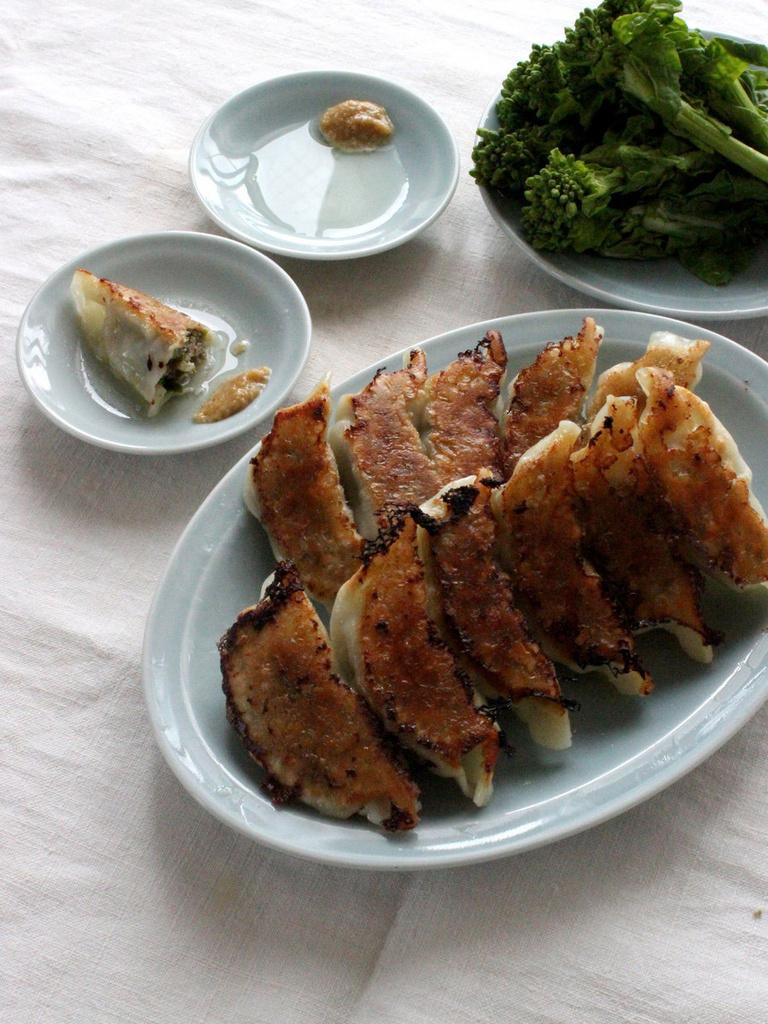 <Carte de Cuisine>菜の花の焼き餃子