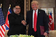 米朝首脳会談、金正恩の勝利