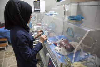 シリアの病院に太陽光パネル 空爆などによる停電に一助