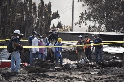 グアテマラ火山噴火、行方不明者の捜索打ち切り