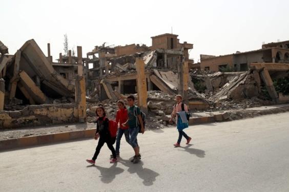 有志連合、ラッカ奪還戦で数百人の民間人殺害 アムネスティが非難