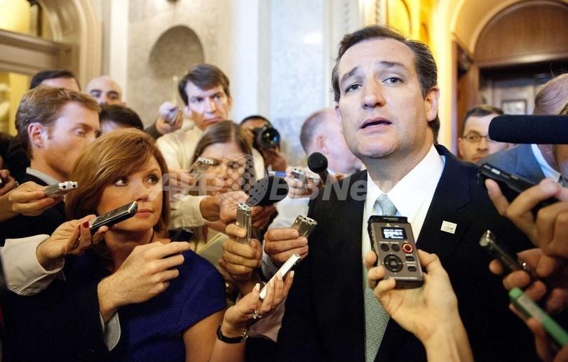 米上院議員が21時間以上の演説、暫定予算案に反対