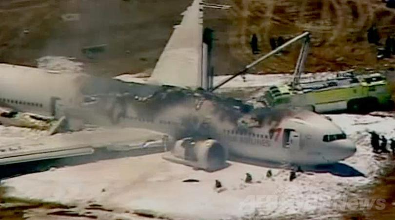 アシアナ機事故で消防車にひかれた少女、消防隊員に過失か