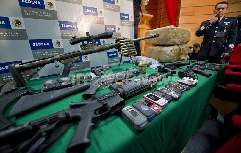 悪化の一途をたどるメキシコの麻薬抗争、1日で43人が犠牲に