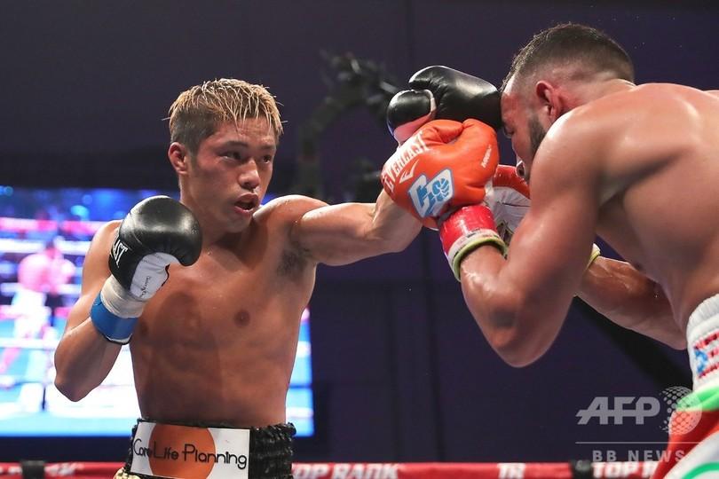 伊藤雅雪、WBOスーパーフェザー級王座を獲得
