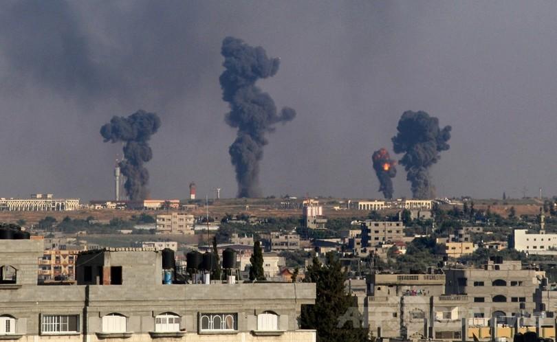 ガザ地区に大規模紛争の危機、ハマスとイスラエルが攻撃の応酬