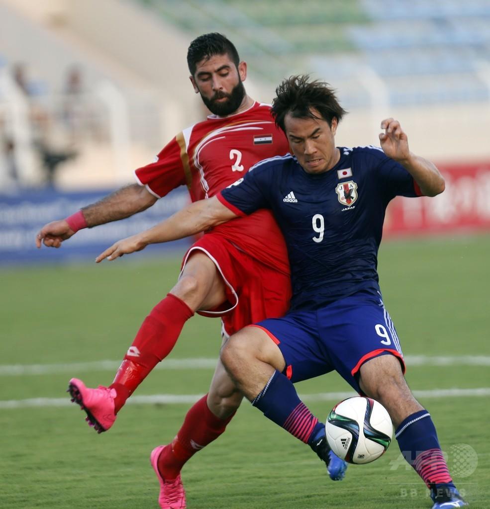 ハリル日本、シリア破りグループ首位に浮上 W杯アジア2次予選
