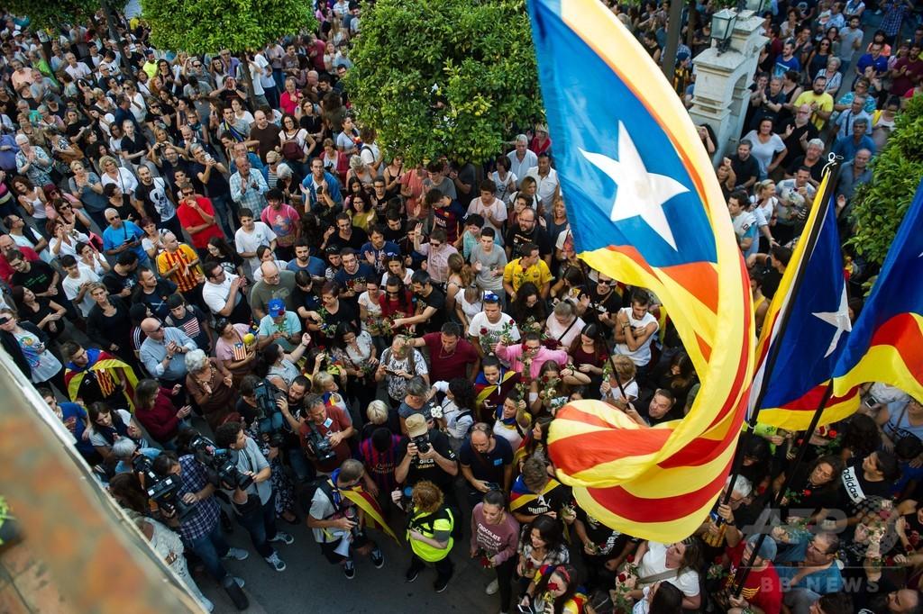 スペイン、カタルーニャ負傷者に謝罪 双方に歩み寄りの兆し