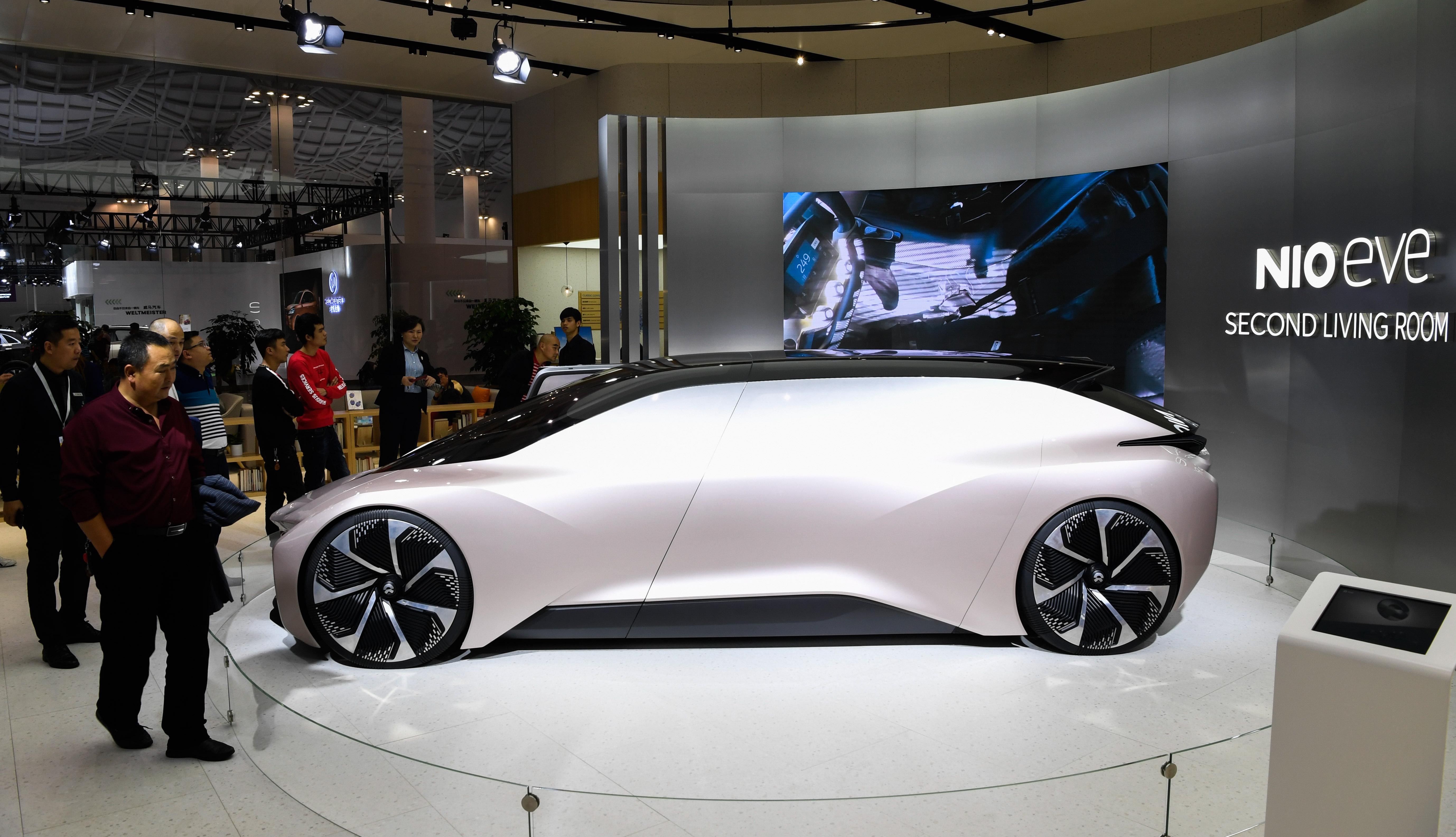 NIOが蘇寧と提携、自動車スマートリテールの新モデル構築へ