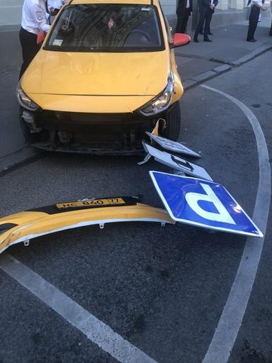W杯開催中のロシアでタクシーが歩行者らに突入、7人負傷