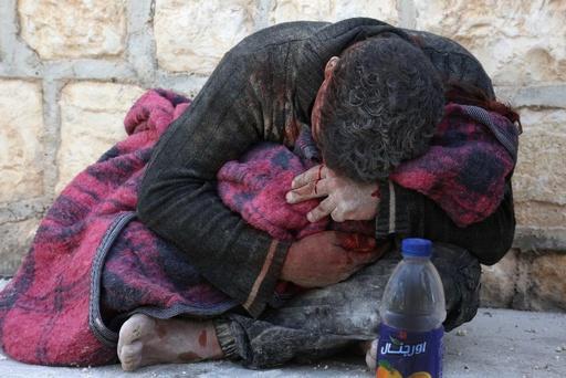シリア北西部で停戦合意以降最大の衝突、空爆で民間人2人死亡