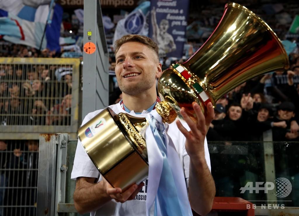 ラツィオがイタリア杯で7度目V、EL出場権獲得もファンが暴動