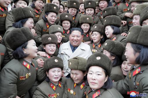 【写真特集】視察する北朝鮮の指導者、金正恩氏