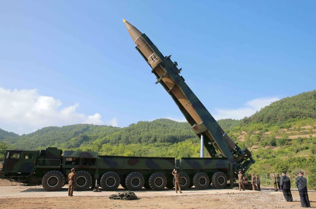 国連安保理、あす緊急会合 北朝鮮のICBM発射で
