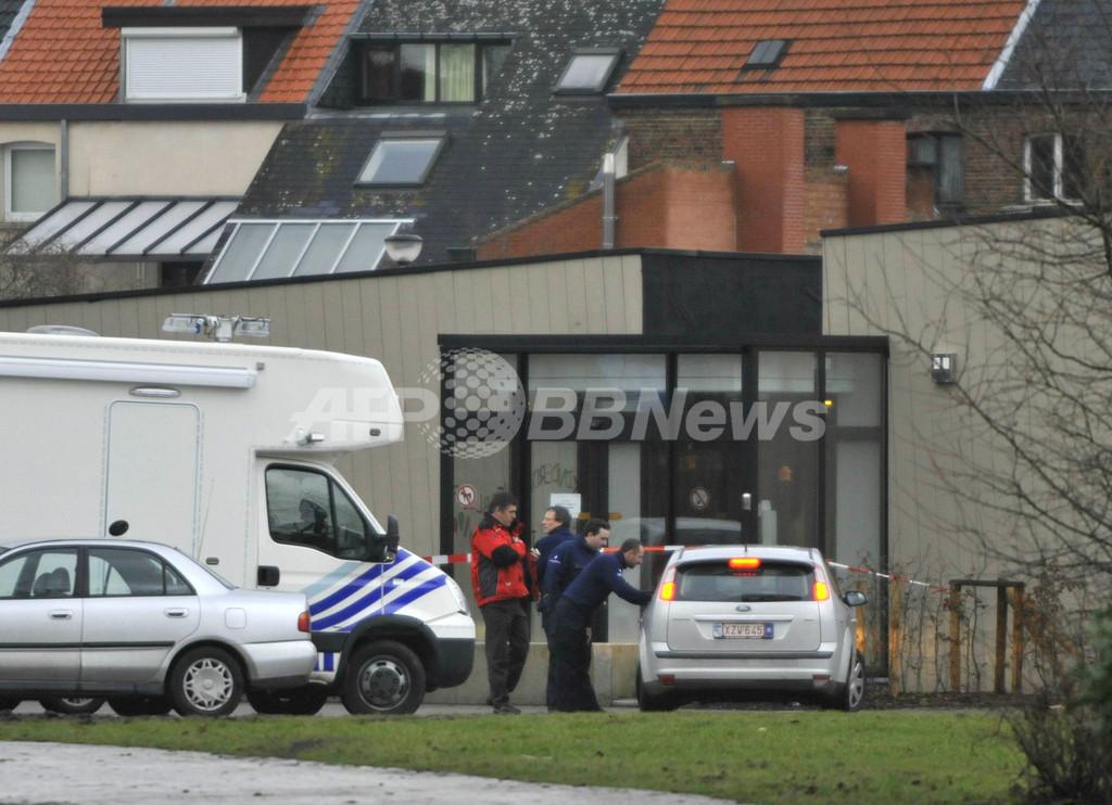 刃物所持の男が託児所に乱入、3人死亡 ベルギー