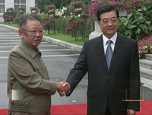 金総書記が胡主席と会談、「次世代」のための友好関係維持を強調