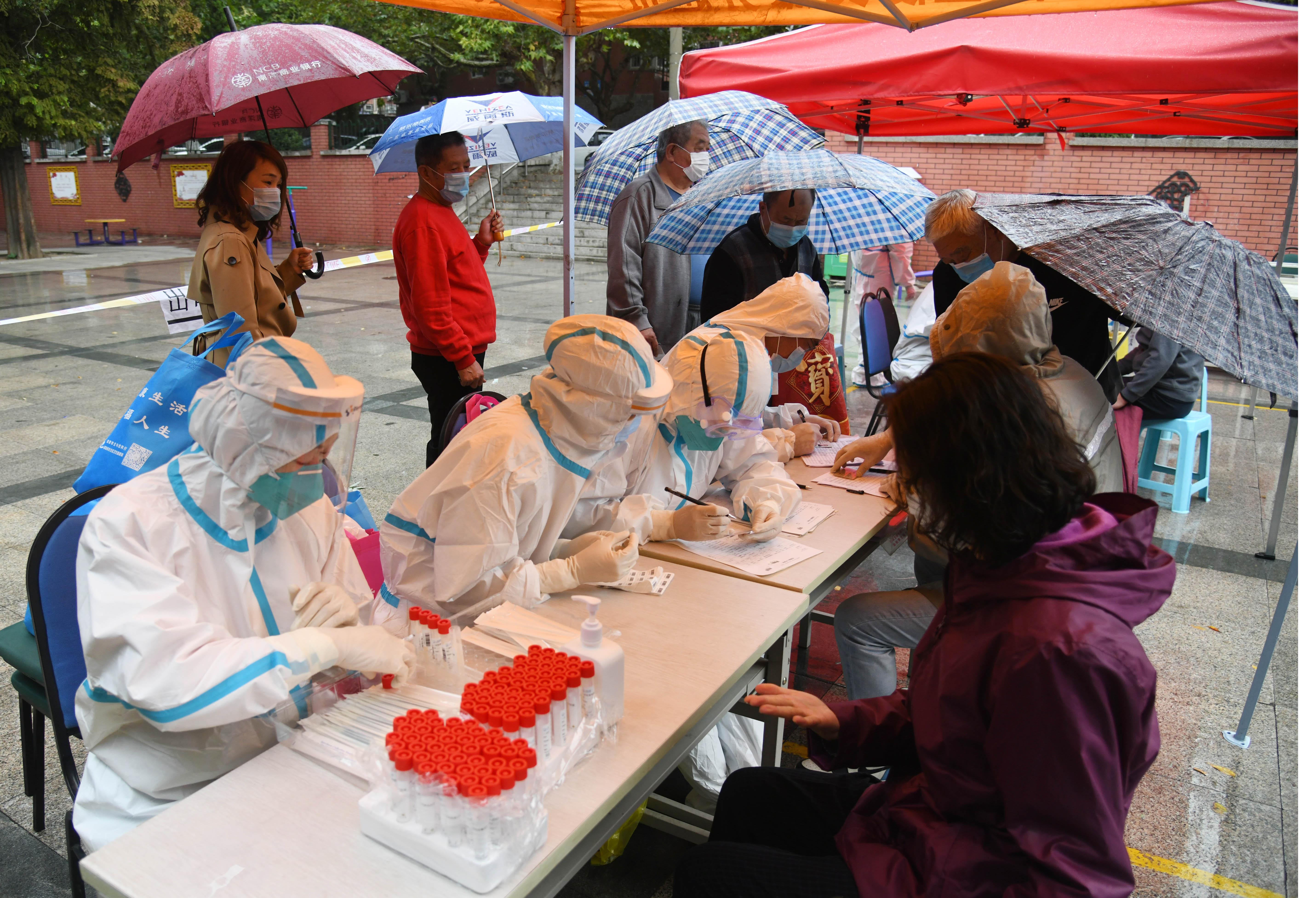青島市、1046万人超の検体採取完了 新たな陽性者なし