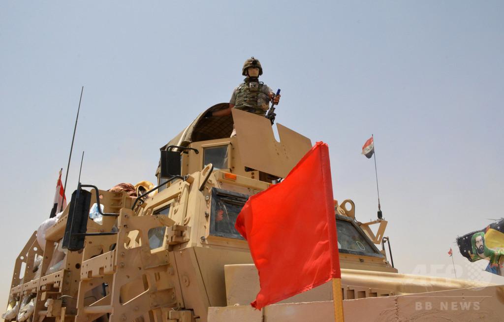 イラク軍、ISから空軍基地奪還 モスル解放に前進