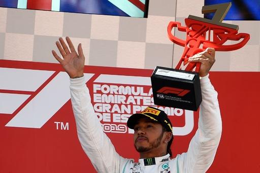 ハミルトンがスペインGP制覇、メルセデス5戦連続のワンツー