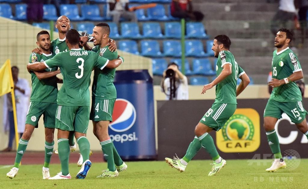 アルジェリア勝利で8強入り、セネガル敗退 アフリカネイションズカップ