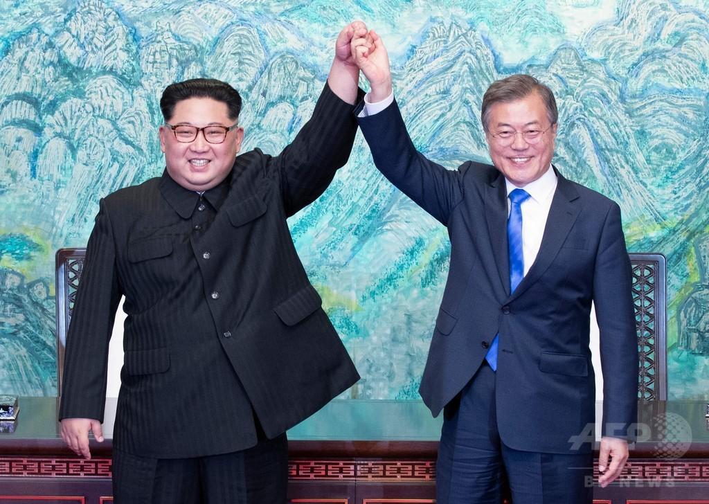 南北首脳会談、韓国各紙は一定評価 非核化で物足りなさ指摘