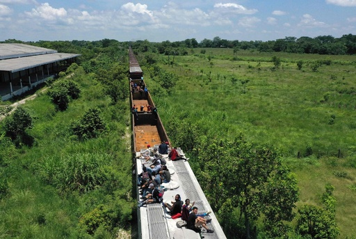 メキシコが国境警備強化、高まる移民の危険 誘拐やゆすりも
