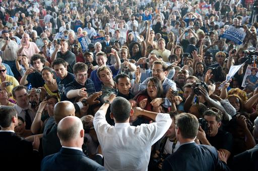 オバマ米大統領の支持率下がる、それでも50%台
