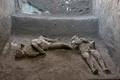 伊ポンペイ遺跡で2人の遺体発掘 ベズビオ火山噴火の犠牲者