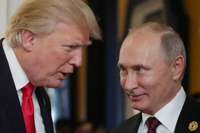 プーチン氏の米大統領選介入否定「信じる」 トランプ氏