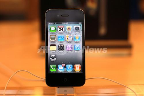 iPhone4の受信状況に苦情、アップルが「持ち方指導」