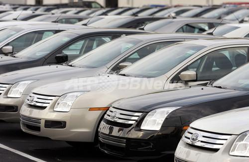 不振にあえぐ米自動車業界、早急な政府支援求める