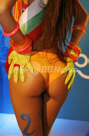 「世界一美しいお尻」コンテスト世界大会、優勝者はブルガリア人女性