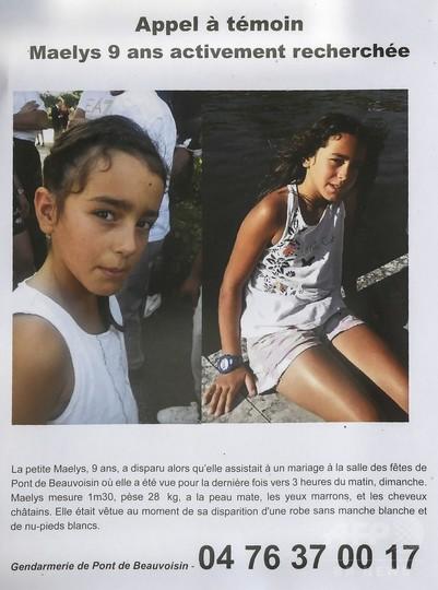結婚パーティーのさなかに9歳少女が行方不明、誘拐の恐れ 仏