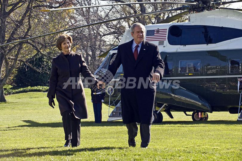 ブッシュ大統領、「和平実現に尽力した」との歴史評価を希望