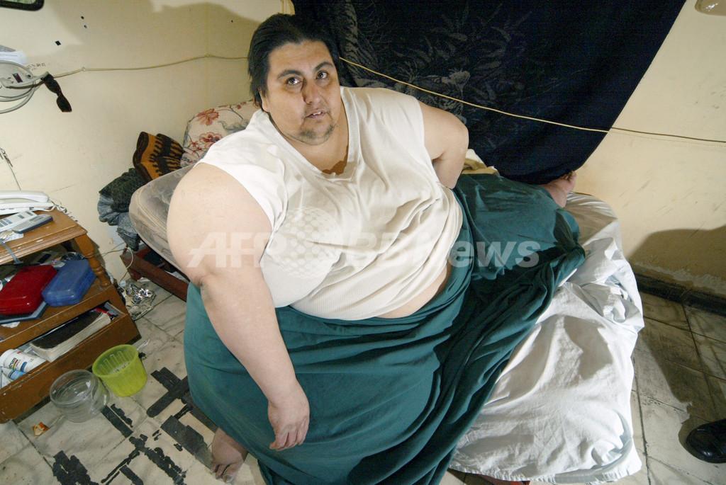 世界一体重の重い人、ギネスブックに掲載へ