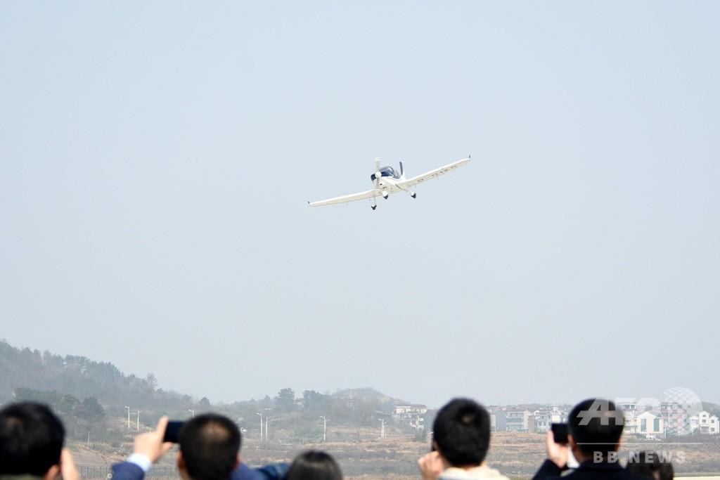 中国民間企業の自主開発機「GA20」、初のテスト飛行