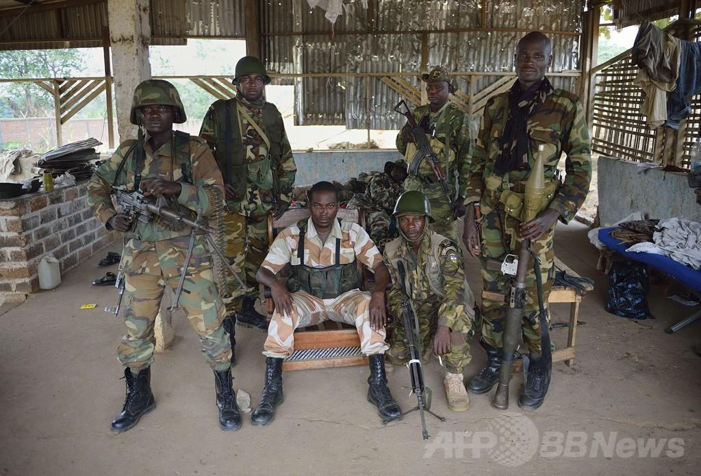 中央アフリカに希望の光、対立勢力が停戦で合意